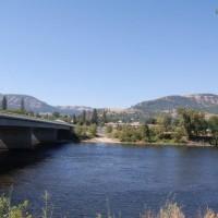 Bridge connecting Hwy 12 to Kamiah