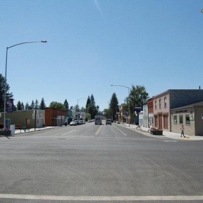 Downtown Nezperce, Idaho